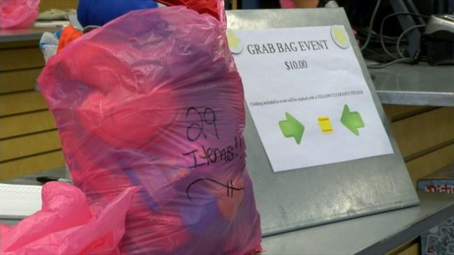 Pas Scramble For Grab Bag Clearance