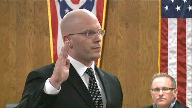 New Austintown police officer Todd Schuller_29757