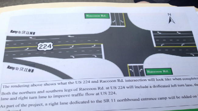 ODOT announces details of Route 224 and Route 11 interchange project_35086