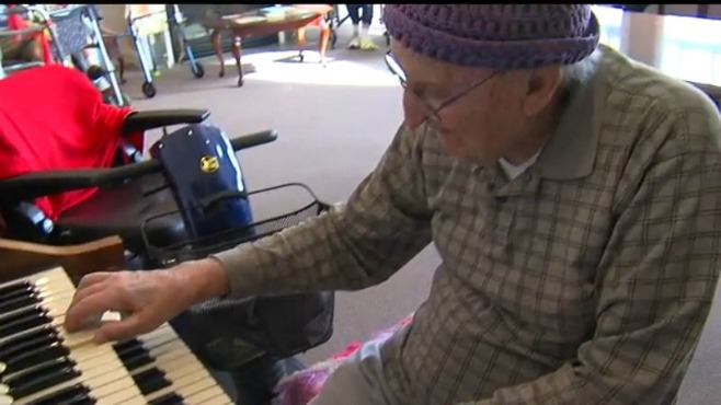 Two valley seniors who live at a nursing home in Columbiana, Ohio, share their secrets to a long and healthy life._36995
