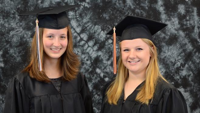 Mineral Ridge High School valedictorians 2015_41603