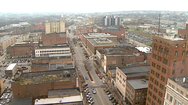 Downtown Youngstown, Ohio skyline_39092