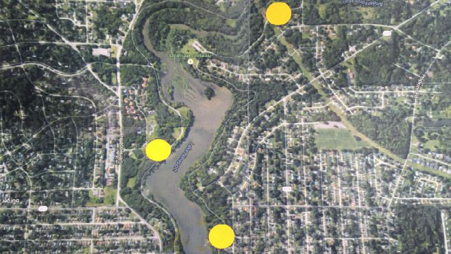 Mill Creek Park will be testing Lake Newport's water for E. Coli weekly at the above locations until some time in October._48696