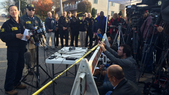 NTSB looking at weather, pilot recordings in Akron plane crash_58292