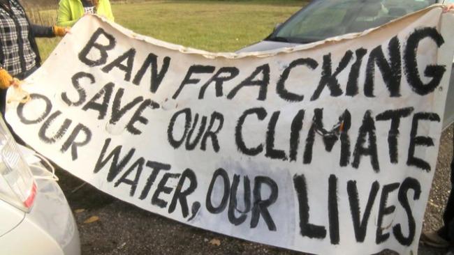Frackfree Mahoning Valley protest_58896