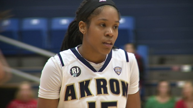 Harding grad Brown leads Akron past YSU_62219
