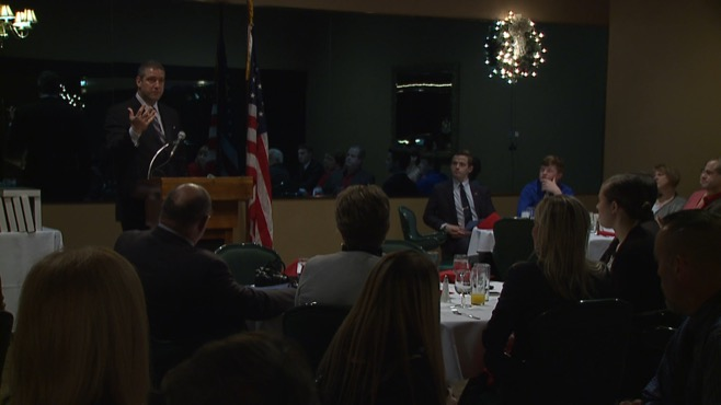 Tim Ryan hosts military breakfast, comments on college costs_61434