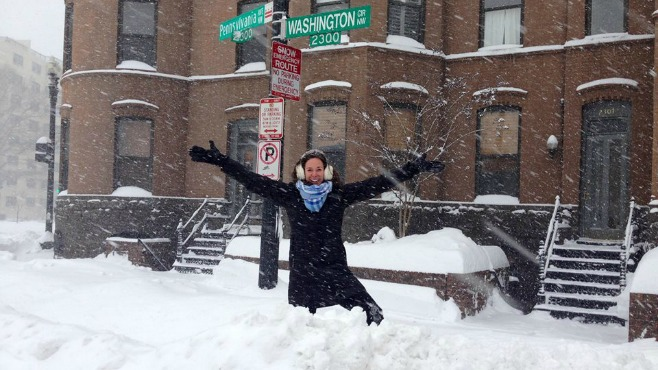 Ellsworth native shares first-hand experience of DC blizzard_65427