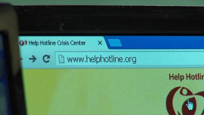 Help Hotline Crisis Center website_67149