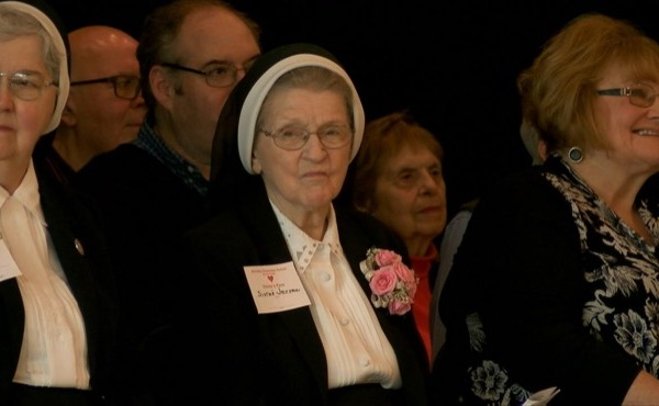 Sister Jerome lauded for nearly 100 years of giving_54542