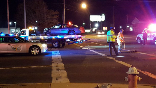Accident on 224 and Market Street in Boardman_72594