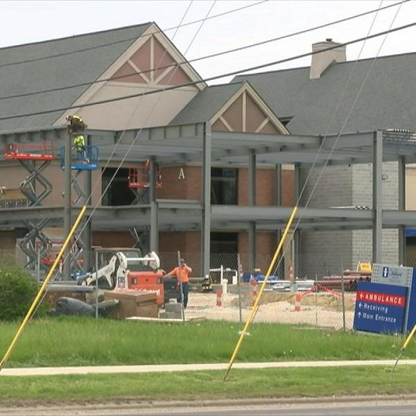 Akron Children's Hospital construction_77878