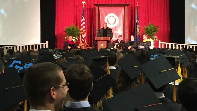 Dr  Ben Carson talks about success in commencement address