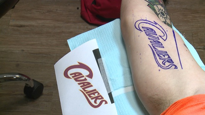 cleveland cavs tattoo austintown_83566