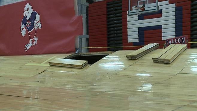 austintown fitch warped gym floor 2_85318