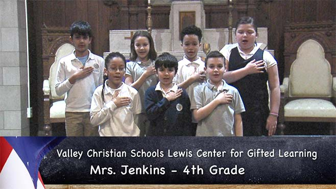 Valley Christian Schools Lewis Center for Gifted Learning - Mrs. Jenkins - 4th Grade_119671
