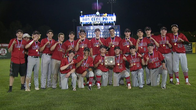 Division II District Champion Canfield Cardinals_122410
