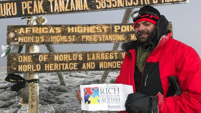 Ryan Sheridan climbs Mt. Kilimanjaro_139631