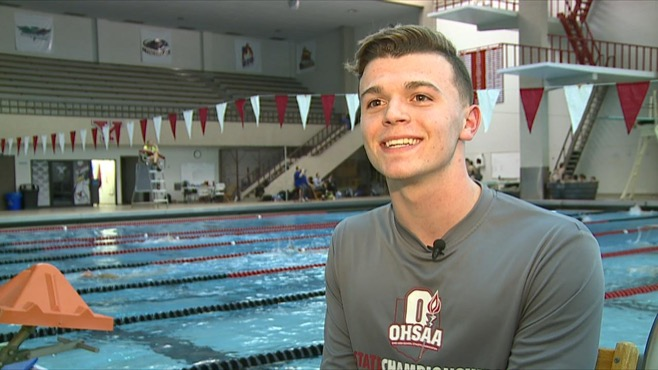 Student Athlete Kyle Kimerer