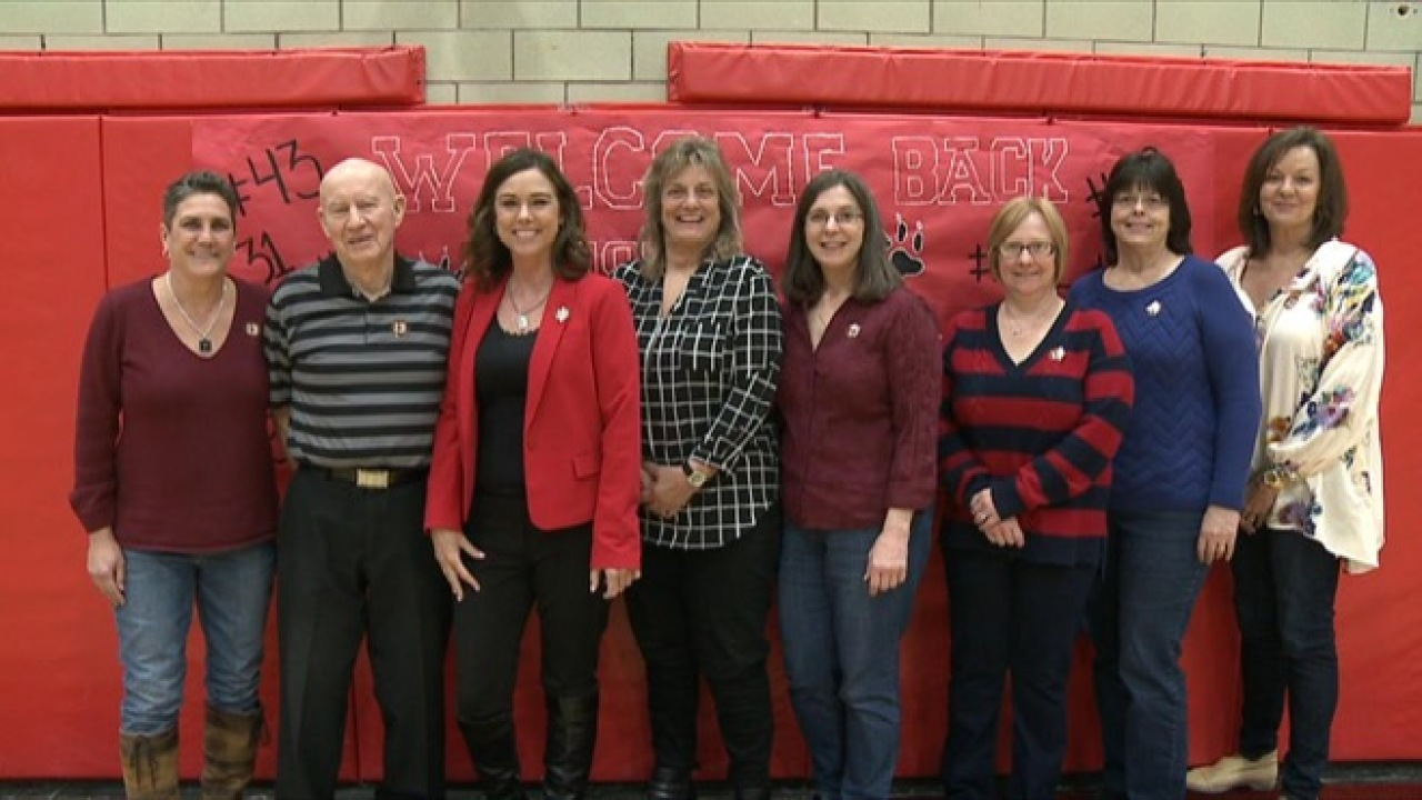 Struthers 1978 State Champions Honored In Win Over Niles