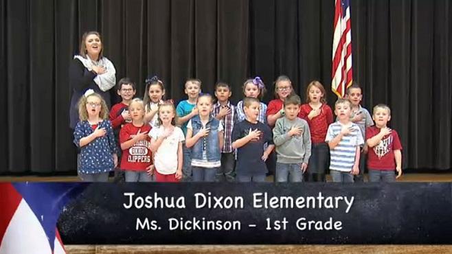 Joshua Dixon Elementary - Mrs. Dickinson - 1st Grade_151220