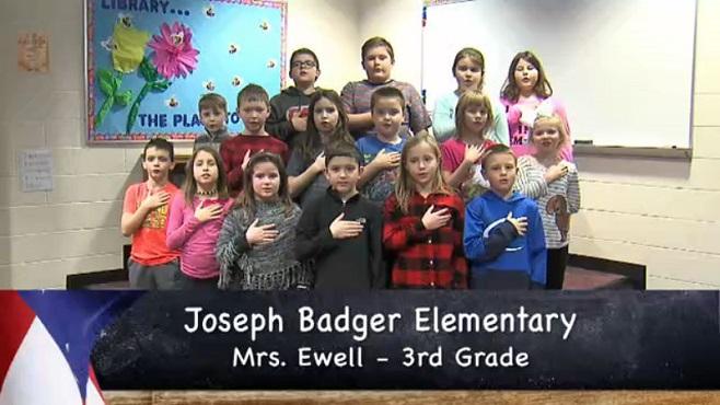 Joseph Badger - Mrs. Ewell - 3rd Grade_154722