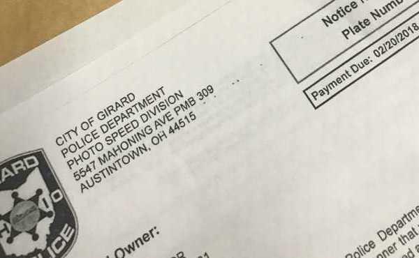 Girard traffic ticket_159264