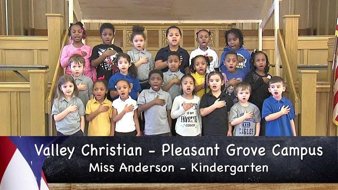 Valley Christian Pleasant Grove Campus - Miss Anderson - Kindergarten_157716