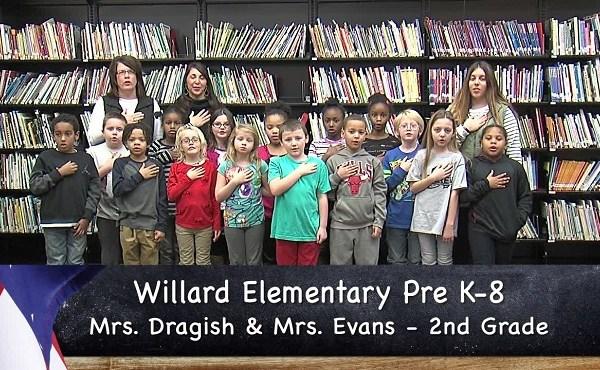 Willard Pre K-8 - Mrs. Dragish_Mrs. Evans - 2nd Grade_155651