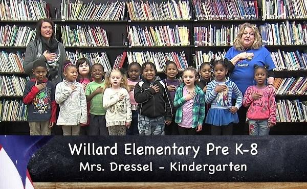 Willard Pre K-8 - Mrs. Dressel - Kindegarten_155649