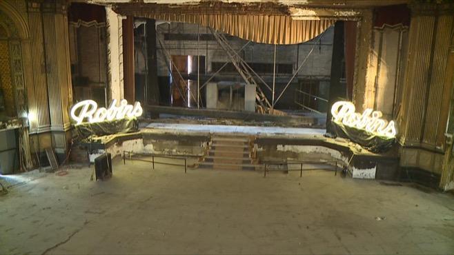 Robins Theatre renovations_158989