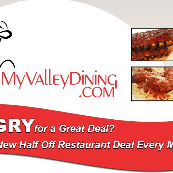 MyValleyDining sign up for emails