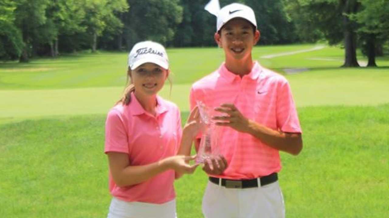 Aidan Tran, Sophie Linder, American Junior Golf Association