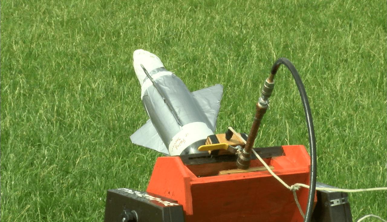 Jackon-Milton Schools rocket
