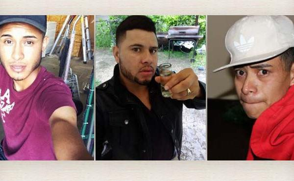 Arnulfo Ramos, David Ramos Contreras, Juan Garcias Rios Adiel wanted for rape and kidnapping