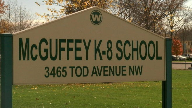 Youngstown's McGuffey Elementary School closed Monday