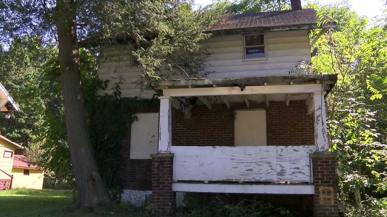 Youngstown vacant house