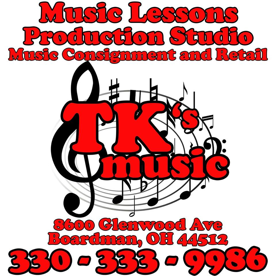 TK's Music logo
