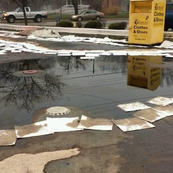 Parkman Road gas station gas leak, Warren