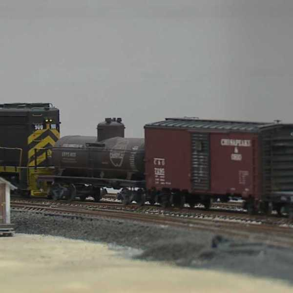 Midwest Scale Train Show in Salem