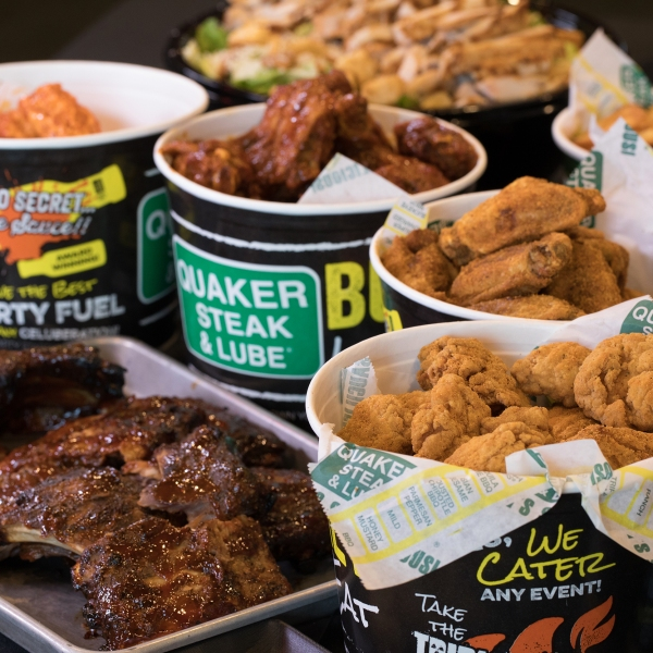 Quaker Steak & Lube catering
