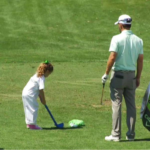 Fun with kids at the Masters