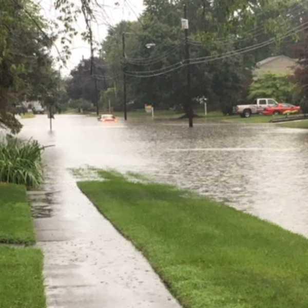 Boardman flooding on Ridgefield