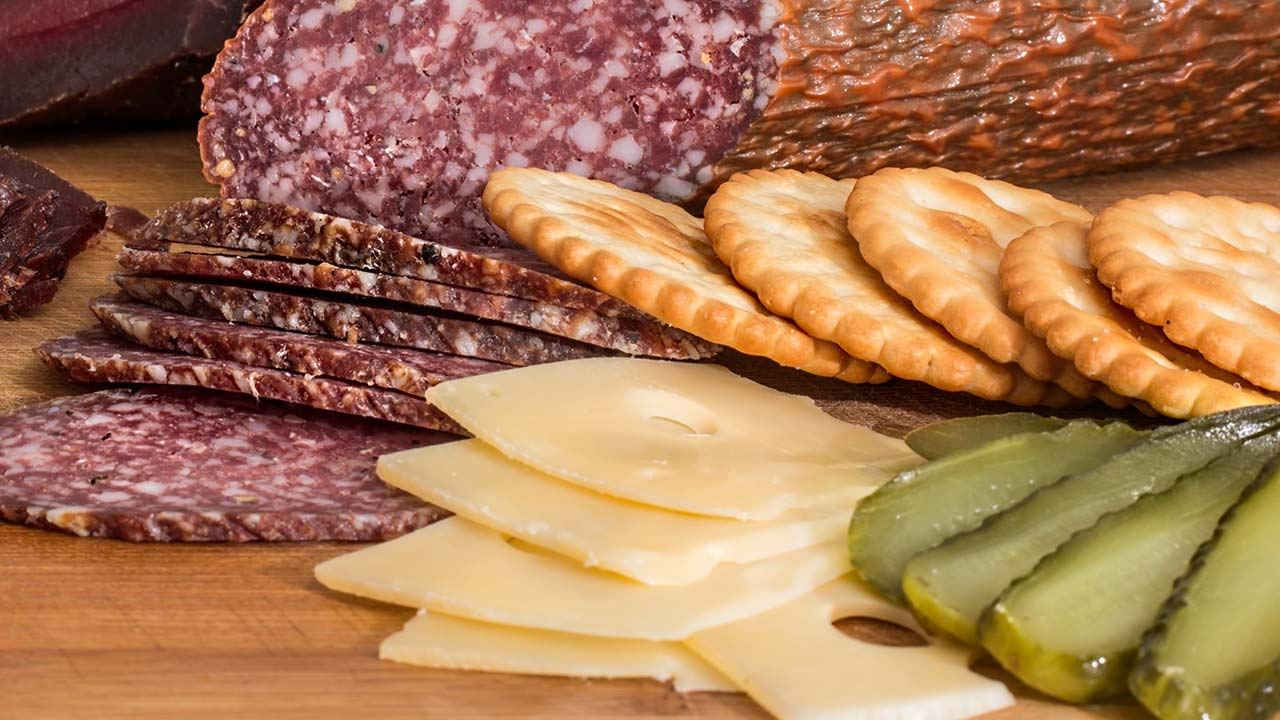 Deli meats and cheese - generic