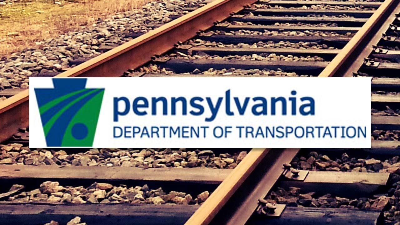 PennDOT, Pennsylvania Department of Trasportation, railroad tracks
