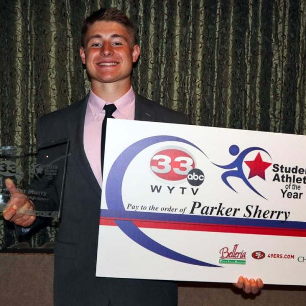 2019 Student Athlete of the Year, Parker Sherry
