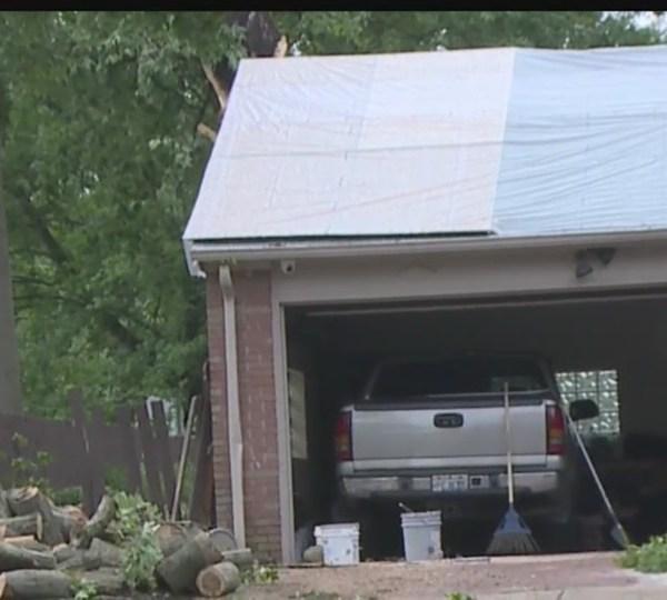 Warren storm damage