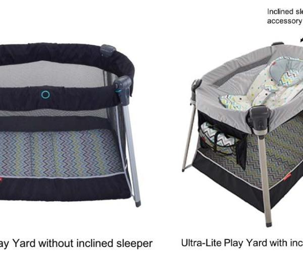 Ultra-Lite Day & Night Play Yard: Inclined Sleeper Accessory Recall