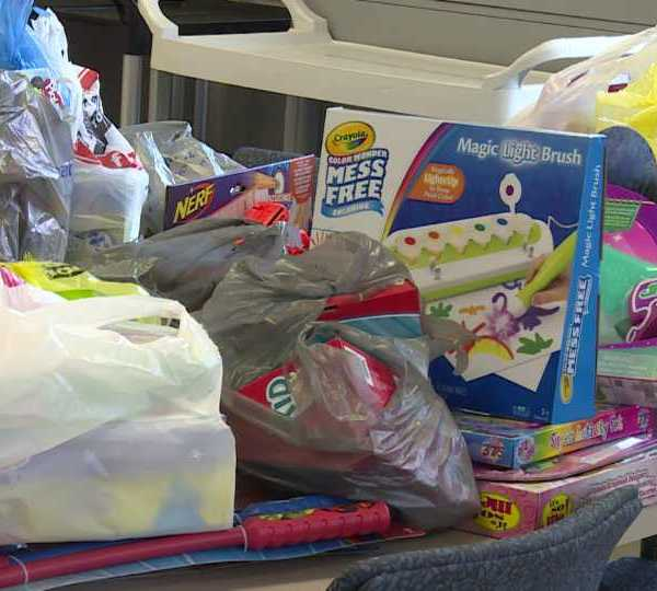 Canfield Christmas in July toy drive