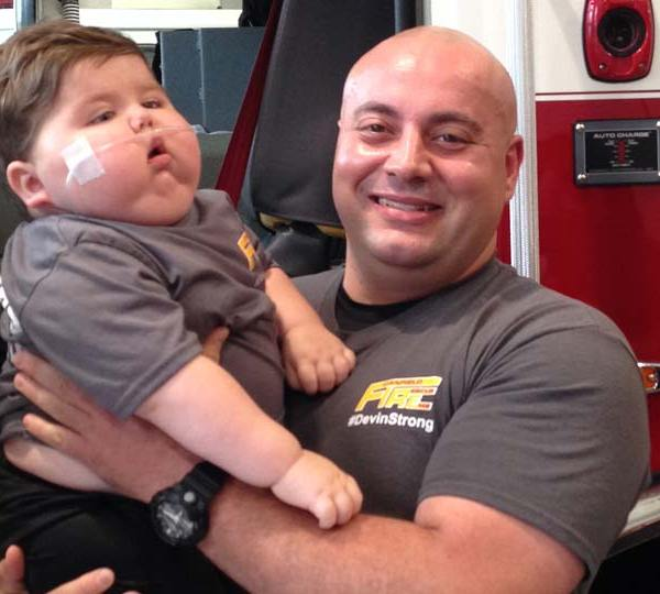Devin Kirtley, Canfield boy battling cancer.